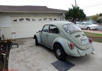 Volkswagen Beetle 1968 Awesome thesamba Beetle Late Model Super 1968 Up View