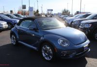 Volkswagen Beetle 4 Wheel Drive Awesome New 2019 Volkswagen Beetle Convertible 2 0t Se Fwd 2d Convertible