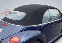 Volkswagen Beetle 89 Lovely soft top sonnenland Mohair for Vw New Beetle Cabriolet Year 03 11