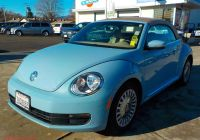 Volkswagen Beetle and Camper for Sale New Pre Owned 2014 Volkswagen Beetle Convertible Fwd Convertible