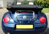 Volkswagen Beetle and New Beetle Lovely the Classic Hex Luggage Carrier for the Vw Beetle