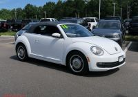 Volkswagen Beetle and Similar Cars New Certified Pre Owned 2016 Volkswagen Beetle Convertible 1 8t Denim Fwd Convertible