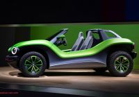 Volkswagen Beetle Dune Buggy Awesome the Volkswagen Id Buggy Concept Takes the Dune Buggy