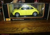 Volkswagen Beetle Ebay Awesome Maisto Volkswagen Vw New Beetle 1 18 Scale Diecast Model Yellow Special Edition