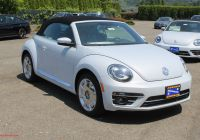 Volkswagen Beetle End Beautiful New 2019 Volkswagen Beetle Convertible 2 0t Se Fwd 2d Convertible