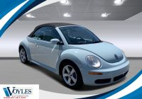Volkswagen Beetle Final Edition Lovely 2010 Volkswagen New Beetle Convertible Final Edition Fwd Convertible
