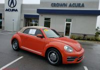 Volkswagen Beetle Gas Tank Awesome Pre Owned 2018 Volkswagen Beetle Convertible Coast Fwd Convertible
