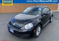 Volkswagen Beetle Hood Unique Pre Owned 2016 Volkswagen Beetle Coupe 1 8t Wolfsburg Edition Fwd Hatchback