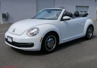 Volkswagen Beetle Jeans Beautiful Certified Pre Owned 2016 Volkswagen Beetle Convertible 1 8t Denim Fwd Convertible