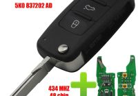 Volkswagen Beetle Key Fob Awesome Qcontrol 5k0 837 202 Ad Remote Key for Vw Volkswagen