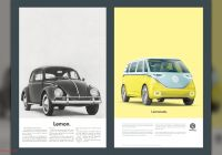 Volkswagen Beetle Lemon Ad Luxury Vw Owns Up to Emissions Scandal In Remakes Of Iconic Lemon