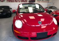 Volkswagen Beetle Near Me Awesome 2009 Volkswagen New Beetle Convertible 2dr Auto S
