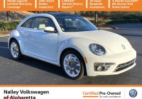 Volkswagen Beetle Near Me Used Elegant Pre Owned 2019 Volkswagen Beetle Final Edition Sel Fwd Hatchback