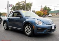 Volkswagen Beetle Near Me Used Unique Used 2018 Volkswagen Beetle Coast
