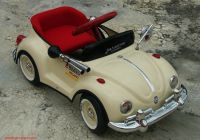 Volkswagen Beetle Parts Lovely 1960s Vintage original Vw Bug Beige Metal Beetle Pedal Car
