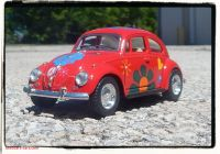 Volkswagen Beetle Pickup Awesome 1967 Volkswagen with Flowers 1 32 Scale