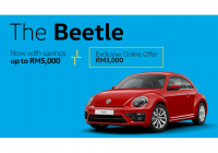 Volkswagen Beetle Price In Malaysia Inspirational the Beetle 1 2tsi Sport 7dsg 105ps