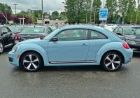 Volkswagen Beetle Second Hand Awesome Denim Blue Vw Beetle at Capilano Volkswagen Love that