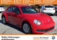 Volkswagen Beetle Trunk Awesome Pre Owned 2015 Volkswagen Beetle Coupe 1 8t Fleet Edition Fwd Hatchback