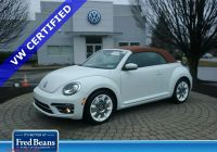 Volkswagen Beetle Under 10000 Awesome Pre Owned 2019 Volkswagen Beetle Convertible Final Edition Sel Fwd Convertible