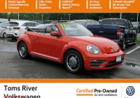 Volkswagen Beetle Used Awesome Certified Pre Owned 2018 Volkswagen Beetle Convertible Coast
