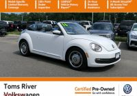 Volkswagen Beetle Used Car Beautiful Certified Pre Owned 2016 Volkswagen Beetle Convertible 1 8t Denim Fwd Convertible
