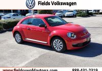 Volkswagen Beetle Used Car Luxury Pre Owned 2015 Volkswagen Beetle Coupe 1 8t Fleet Edition Fwd Hatchback