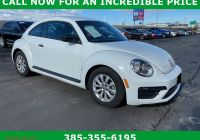 Volkswagen Beetle Used Fresh Pre Owned 2018 Volkswagen Beetle S Hatchback In Riverdale