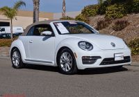 Volkswagen Beetle Van for Sale Fresh Pre Owned 2017 Volkswagen Beetle Convertible 1 8t Se Fwd Convertible