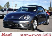 Volkswagen Beetle Van for Sale Luxury Pre Owned 2018 Volkswagen Beetle Convertible S Fwd Convertible