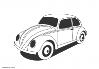 Volkswagen Beetle Vector Luxury Library Of Great Gatsby Car Graphic Transparent Stock Png