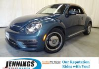 Volkswagen Beetle Wolfsburg Edition Best Of Certified Pre Owned 2018 Volkswagen Beetle Convertible Coast Fwd Convertible