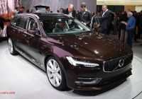 Volvo Station Wagon Best Of 2017 Volvo V90 Station Wagon Makes Global Debut