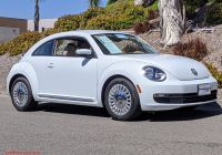 Vw Beetle or Mini Cooper Beautiful Pre Owned 2016 Volkswagen Beetle Coupe 1 8t Se