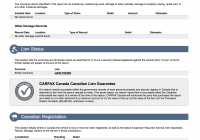 What is Carfax New Carfax Canada Carproof Verified Report Sample