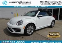 What Oil Does A Volkswagen Beetle Take Elegant New 2019 Volkswagen Beetle Convertible S Fwd Convertible