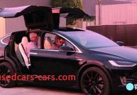 What Tesla Has butterfly Doors Inspirational Tesla Unveils Radical Model X Crossover