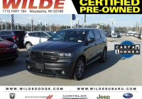 What's Carfax Beautiful Certified Pre Owned 2015 Dodge Durango R T Suv In Waukesha A
