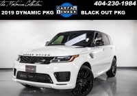What's Carfax Beautiful Used 2019 Land Rover Range Rover Sport Hse Dynamic for Sale $85 997