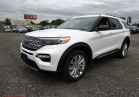 When Can 2020 ford Explorer Be ordered Lovely New 2020 ford Explorer Limited 4wd Sport Utility