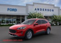 When is 2020 ford Escape Available Fresh 2020 ford Escape Se