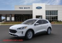 When is 2020 ford Escape Available Inspirational 2020 ford Escape Se