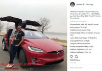 When Tesla Coming to India Unique 1st Tesla Arrives In India the Model X Page 4 Team Bhp