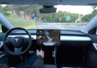 When Tesla Full Self Driving Inspirational Tesla Posts Full Self Driving Demo Video with Stop Sign