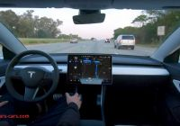 When Tesla Full Self Driving New Tesla Releases Full Self Driving Video