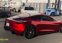 When Tesla Roadster Beautiful Tesla Roadster Prototype Makes Rare Outing Ahead Of Model