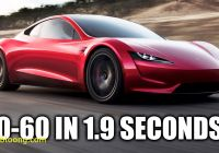 When Tesla Roadster Elegant How the Tesla Roadster Hits 60 Mph In 1 9 Seconds Youtube