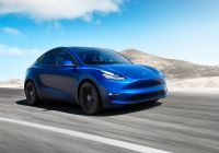 When Was the First Tesla Made Elegant Elon Musk Unveils the Tesla Model Y