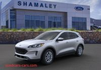When Will 2020 ford Escape Be Available Fresh 2020 ford Escape Se