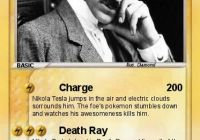Where Tesla Died Fresh Pokemon Nikola Tesla 4 4 Charge My Pokemon Card